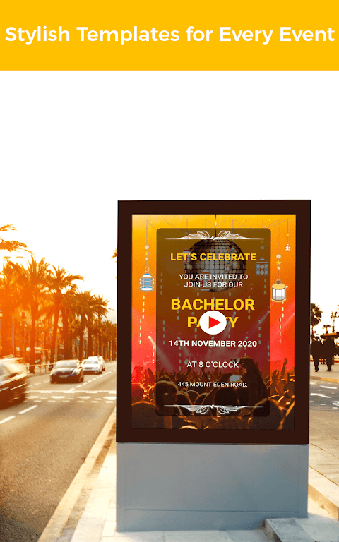 Video Invitation Maker - Create eCards  poster 12