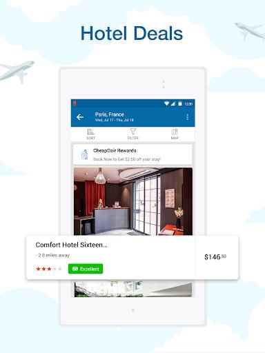 CheapOair: Cheap Flights, Cheap Hotels Booking App 3.20.18 Screenshots 17