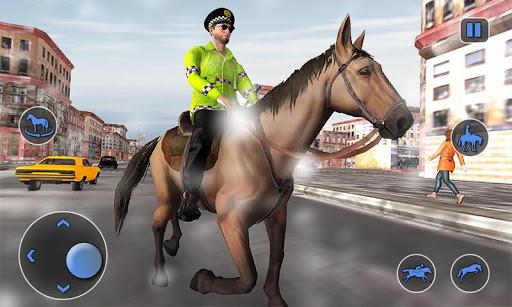 Mounted Horse Police Chase: NY Cop Horseback Ride 1.0.10 screenshots 2