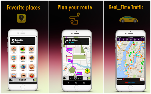 Free GPS Maps - Navigation and Place Finder 4.3.1 Screenshots 4