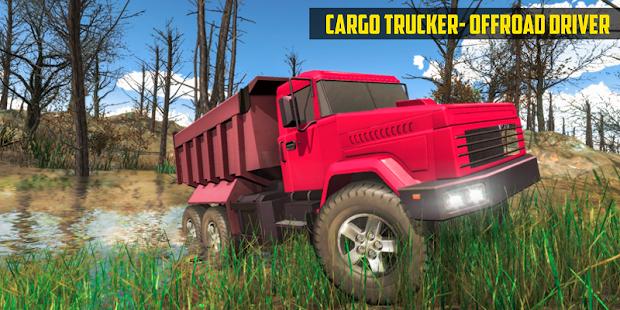 Offroad Driver Cargo Trucker screenshots 1