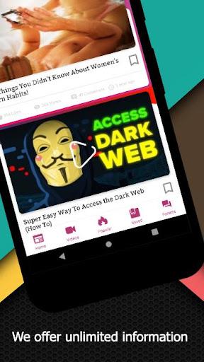 Darknet - Dark Web and Tor: Onion Browser Official 3.0 Screenshots 2