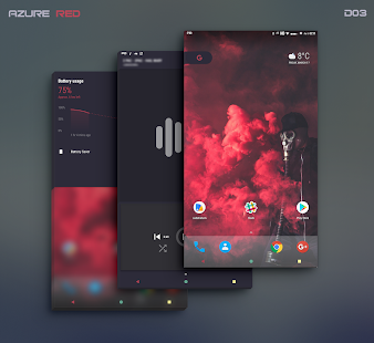 PitchBlack - Substratum Theme For Oreo/Pie/10 Screenshot