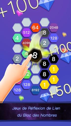 Télécharger Hexa Cell-Jeu de Puzzle de Lien du Bloc des Nombre APK MOD (Astuce) screenshots 1