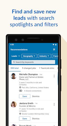 LinkedIn Sales Navigator screenshots 2