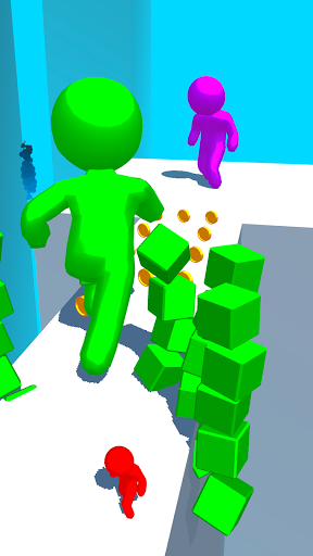 Color Run Stickman 3D apkpoly screenshots 1