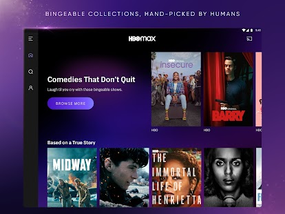 HBO Max: Stream and Watch TV, Movies, and More Capture d'écran