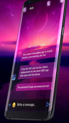 Wallpaper SMS theme 3.3.4 screenshots 2