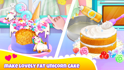 Unicorn Chef: Cooking Games for Girls 5.5 screenshots 2