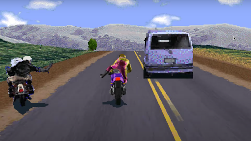 Road Rash like computer game 1.5 screenshots 3