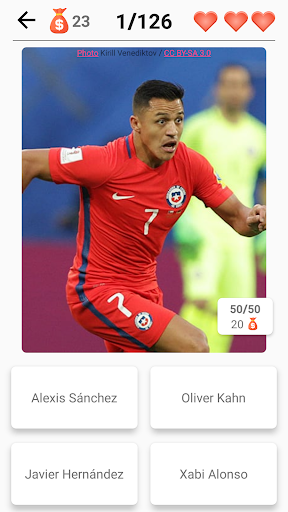 Soccer Players - Quiz about Soccer Stars! 2.99 Screenshots 6
