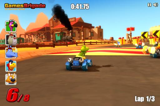 Go Kart Go! Ultra! 2.0 Screenshots 1