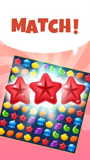 Ocean Splash Match 3: Free Puzzle Games 3.6.0 screenshots 1