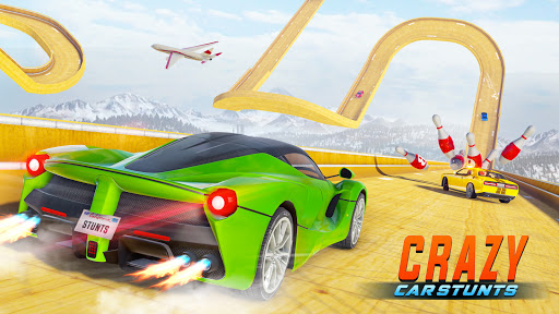 Crazy Car Stunts 3D - Mega Ramps Car Games  screenshots 1