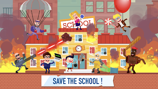 School Raid Hack Online (Android iOS) 1