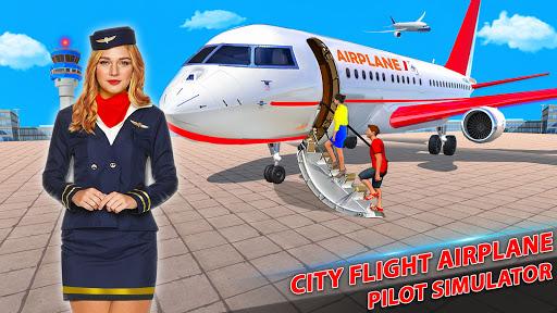 Airplane Pilot Flight Simulator: Airplane Games screenshots 19