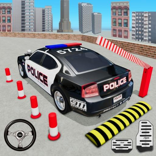 Police Car Parking Simulator 2020 : Free Car Games
