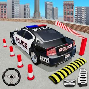 Police Car Parking Games New Prado Car Games 2021