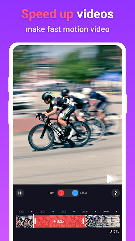 Slow motion - fast motion & slow mo video editor  poster 1