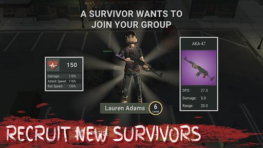 Overrun: Zombie Horde Apocalypse Survival TD Game apkpoly screenshots 5