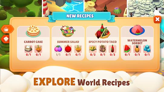Adventure Chef: Merge Explorer Mod Apk 2.18 (Unlimited Money) 9