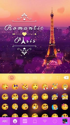 romanticpairs keyboard theme screenshot 2