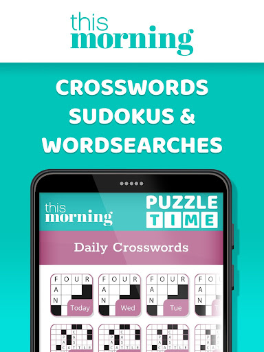 This Morning ud83cudf1e Puzzle Time ud83dudcc6 Daily Puzzles 4.3 screenshots 8