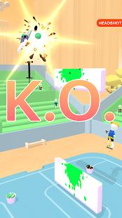 Pogo Paint: 1v1 Ball Throw Sports Game 1.0.21 screenshots 2