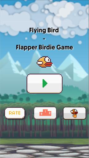 Flying Bird - Flapper Birdie Game apkmartins screenshots 1