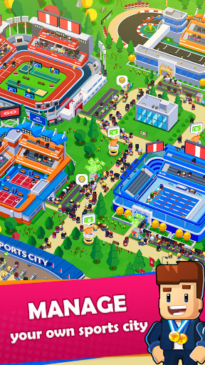 Sports City Tycoon - Idle Sports Games Simulator 1.4.4 screenshots 1