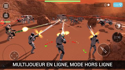 Télécharger Gratuit CyberSphere: TPS Online Action-Shooting Game APK MOD (Astuce) screenshots 1