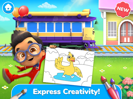 Mighty Express - Play & Learn with Train Friends android2mod screenshots 17