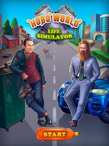 Hobo World - life simulator Apkfinish screenshots 9