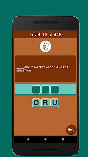 Jumble Word Game - Correct the Spelling 1.5 screenshots 3