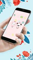 Cute Panda Baby theme & HD wallpapers