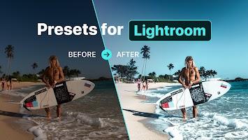 screenshot of Free Presets for Lightroom - FLTR