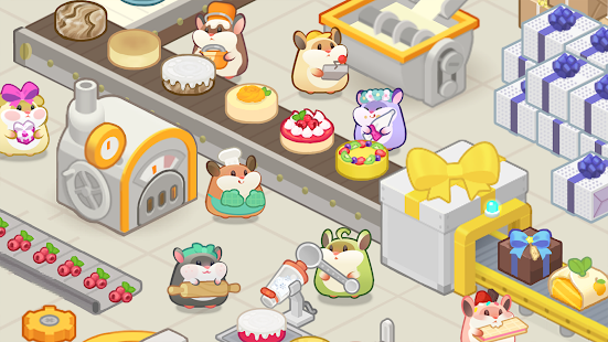 Hamster tycoon game - cake factory