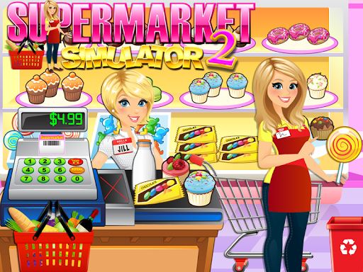 Supermarket Grocery Store Girl - Supermarket Games  screenshots 14