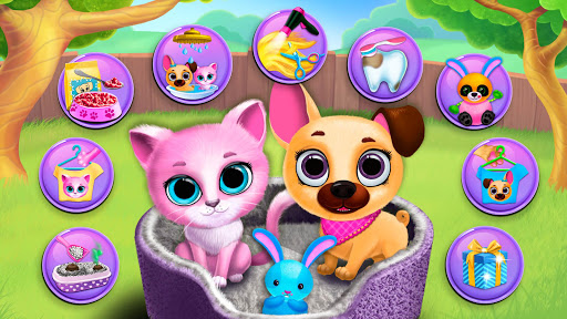 Kiki & Fifi Pet Friends - Virtual Cat & Dog Care 5.0.30007 screenshots 1