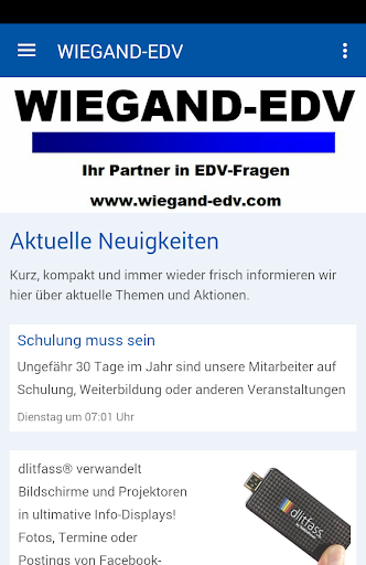 wiegand-edv screenshot 1