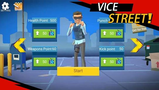 Vice Street: fighting master MOD (Unlimited Money) 5