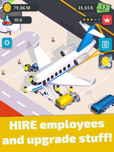 Air Venture - Idle Airport Tycoon u2708ufe0f apkdebit screenshots 10