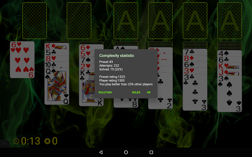 Russian Cell Solitaire screenshots 15