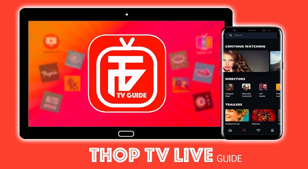 ThopTV Live Cricket, Thop TV Movies Guide poster 0