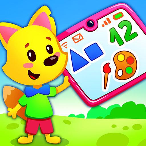 Eğitici çocuk oyunları: renkler ve şekiller
