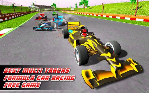 Formula Race Simulator : Top Speed Car Racing 2021 modiapk screenshots 1
