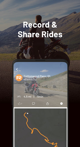 REVER - Motorcycle GPS, Route Planner & Discover screenshots 2