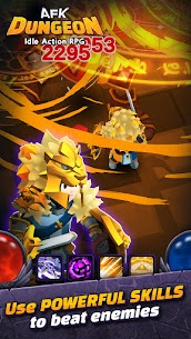 AFK Dungeon Mod Apk: Idle Action RPG (Unlimited Gold/Diamonds) 6