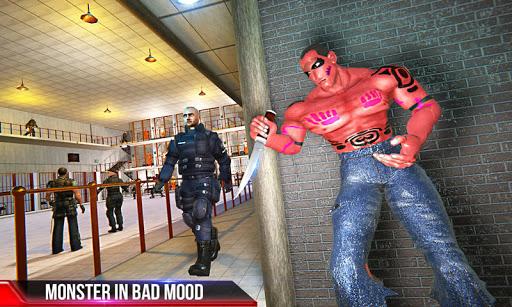 Incredible Monster: Superhero Prison Escape Games apkslow screenshots 1