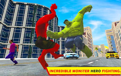 Unbelievable Superhero monster fighting games 2020  screenshots 4